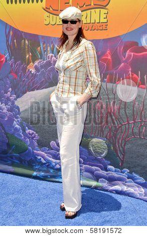 Geena Davis at the Opening of Disneyland's