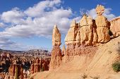 image of hoodoo  - Hoodoos of Bryce Canyon National Park - JPG