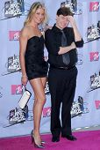 Cameron Diaz and Mike Myers arriving at the 2007 MTV Movie Awards. Gibson Amphitheatre, Universal Ci