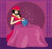 picture of witch ball  - Fortune - JPG
