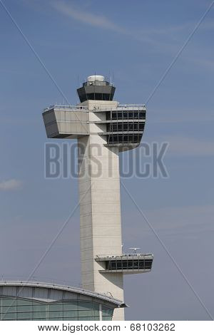 Air Traffic Control Tower at John F Kennedy International Airport