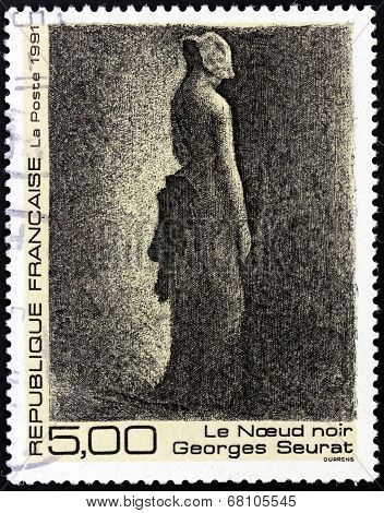 Georges Seurat Stamp