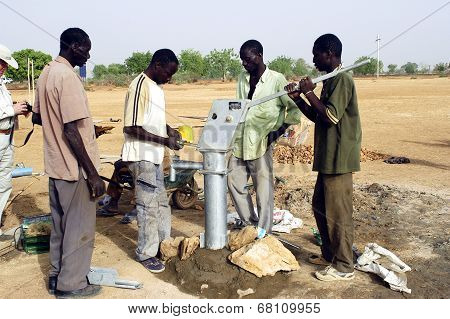 Installation Of A Pump