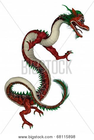 Red Eastern Dragon