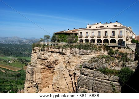 Parador on cliff, Ronda.