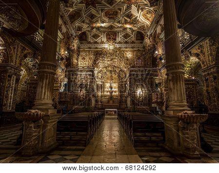 Sao Francisco Church And Convent, Salvador Da Bahia, Brazil