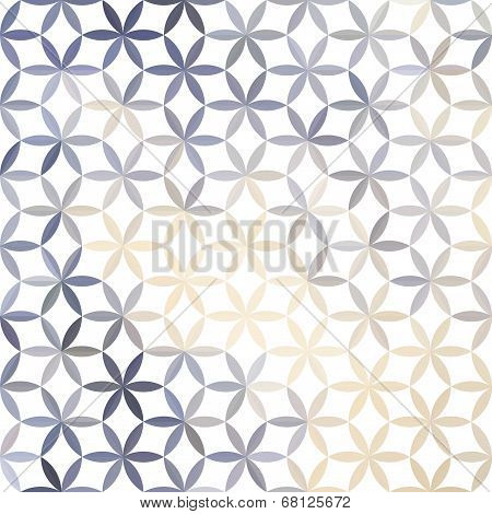 Lavender Pastel Defocused Background With Geometric Ornament