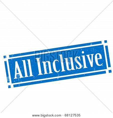 All Inclusive-stamp