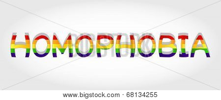 Homophobia Word