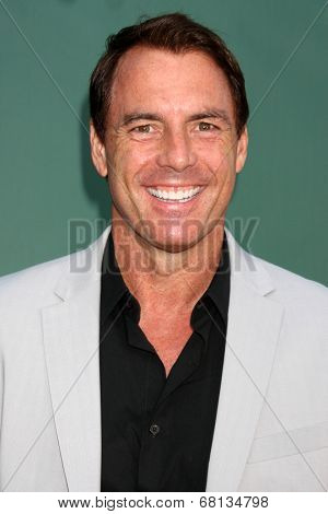 LOS ANGELES - JUL 8:  Mark Steines at the Crown Media Networks July 2014 TCA Party at the Private Estate on July 8, 2014 in Beverly Hills, CA