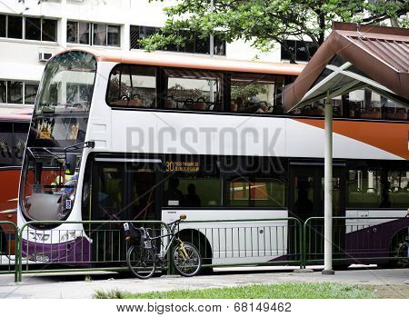 Double-decker Bus Singapore
