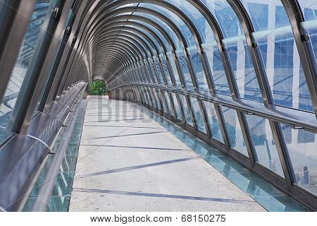 Kupka Bridge, La Defense, Paris, France