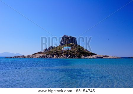 Kefalos church on island