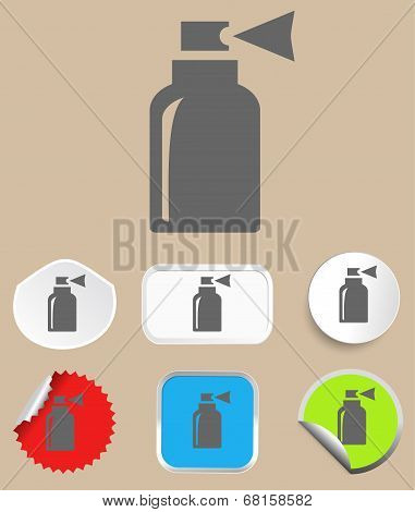 Spray icon - vector illustration.