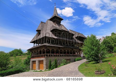 The Monastery Of Barsana In Romania