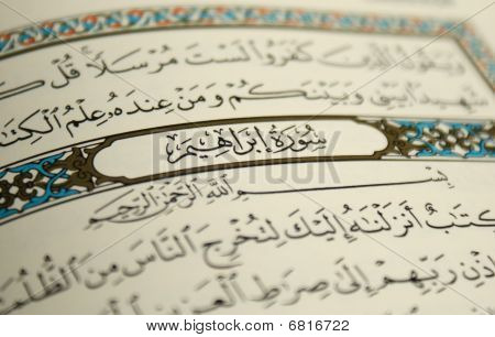 Focus On Sourat Ibrahim