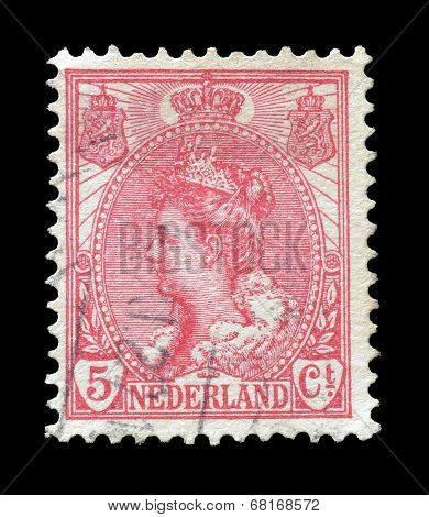 Queen Wilhelmina stamp
