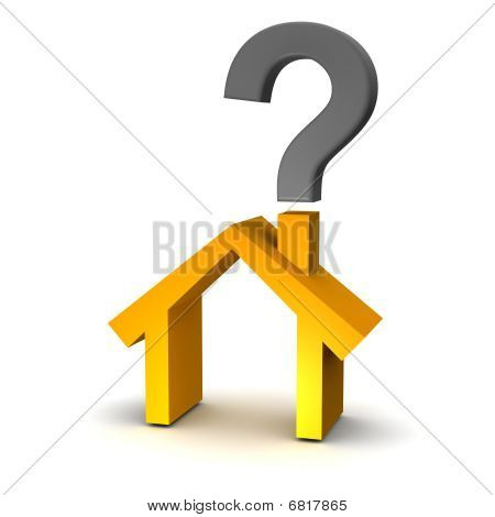House and question mark