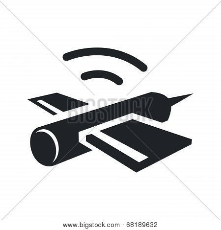 Satellite Vector sign