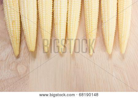 Baby Corn Row On Chopping Block.