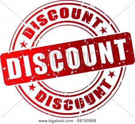 Vector Discount Stamp