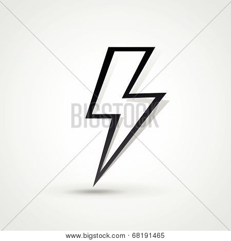 Vecor Lightning Bolt Illustration