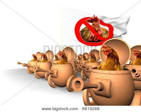 Chauvinism. Chicken Uprising