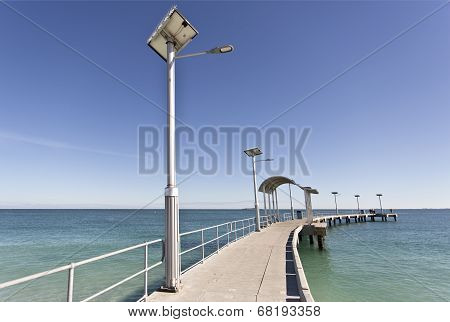 Solar Street Lamppost
