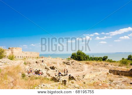 Ukraine, Odessa Region. Belgorod-dniester Fortress , Akkerman Fortress - A Monument To The History O