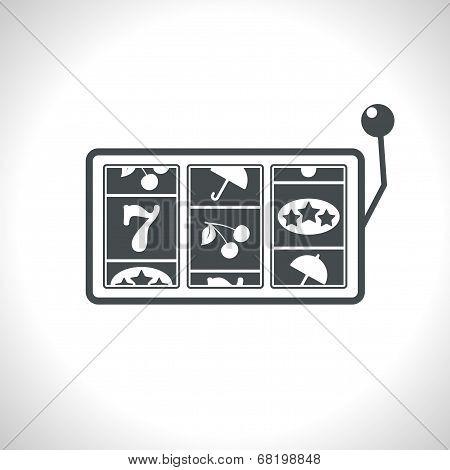 Vector slot icon.