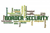 image of deportation  - Border Security Word Cloud - JPG