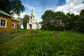 stock photo of trinity  - Orthodox temple of the Holy Trinity - JPG