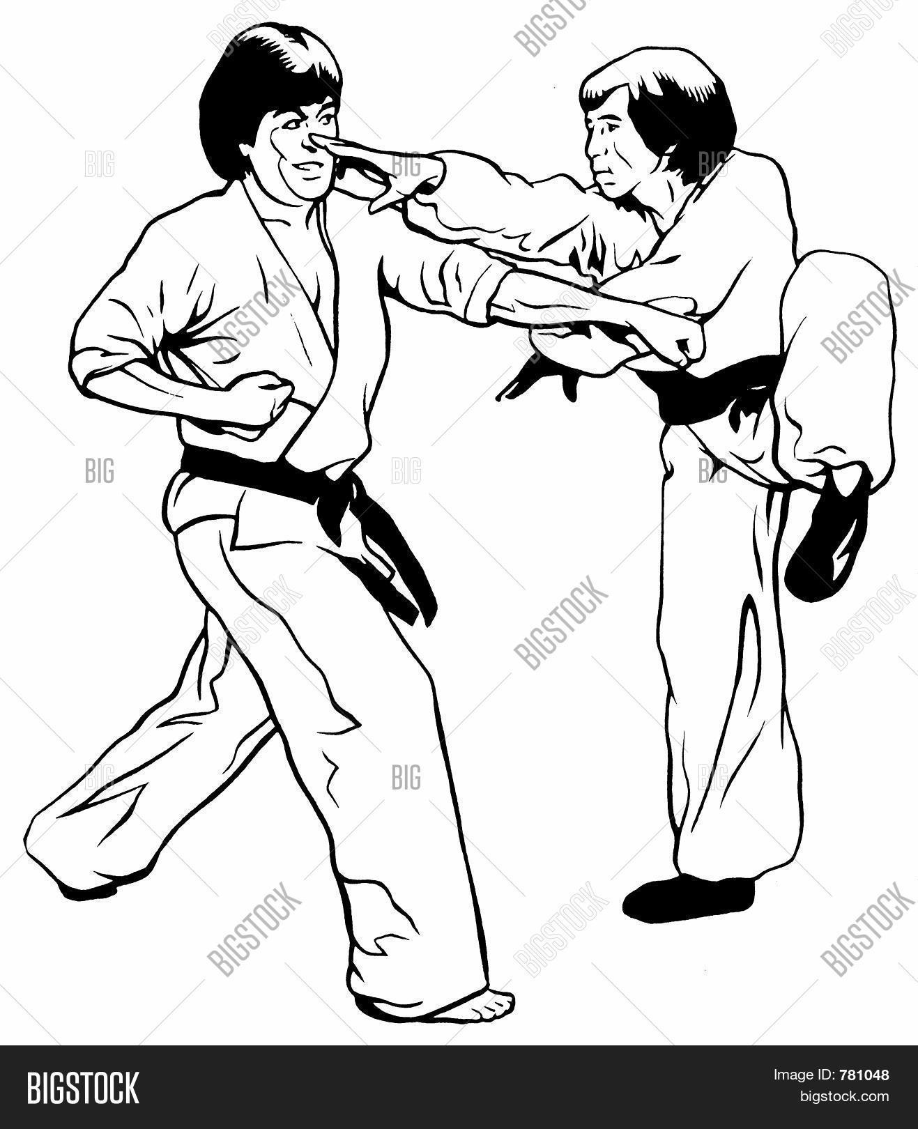 Kung Fu vs Karate/TaeKwonDo Stock Photo & Stock Images | Bigstock