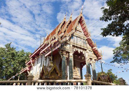 Temple at Wat Kum Tae