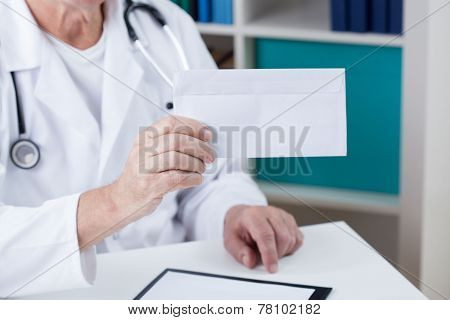 Brribe In Doctor's Hands