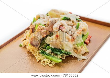 Pork Wonton Noodles