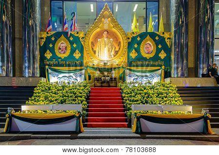 The Celebration Of The Birthday Of Thai King Bhumibol