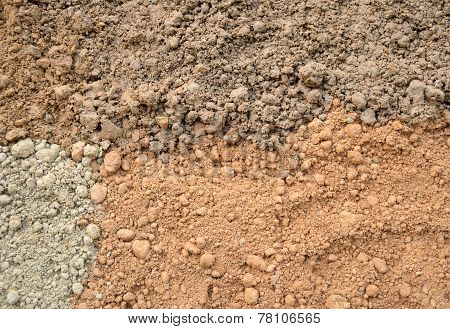 Four Color Soil Background