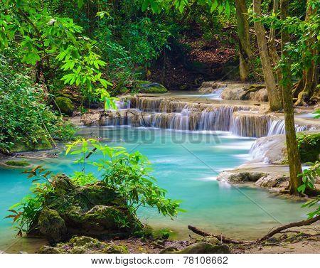Erawan Waterfall, Kanchanaburi, Thailand
