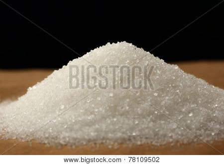 Heap Of White Sugar