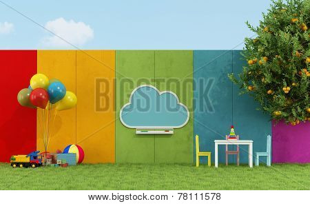 School Playground For Children