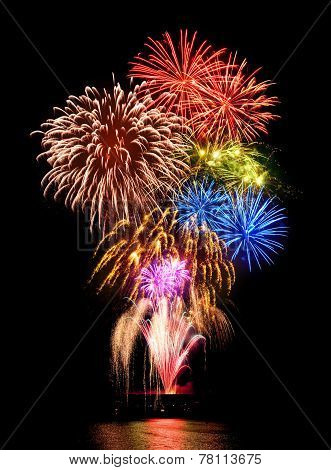 Magnificent Fireworks Display