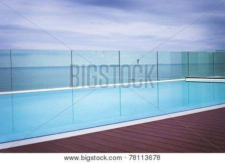 Cool Blue Inviting Swimming Pool