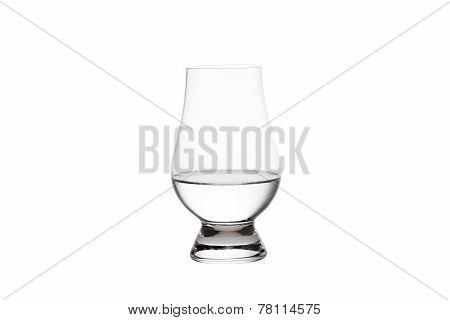 Isolated Vodka In A Crystal Tasting Glass
