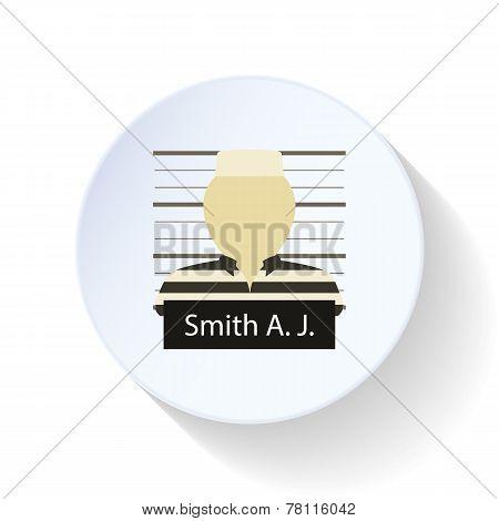 Prisoner Flat Icon