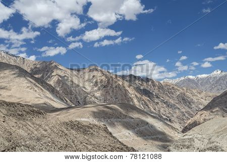 Desert Mountains Of Little Tibet