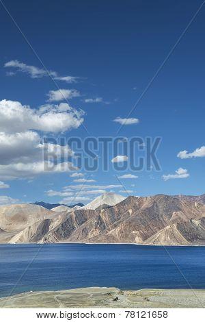 Deep Blue Water Lake