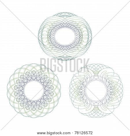 Intricate Rosettes