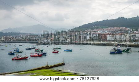 Harbour Of Castro Urdiales, Cantabria - Spain