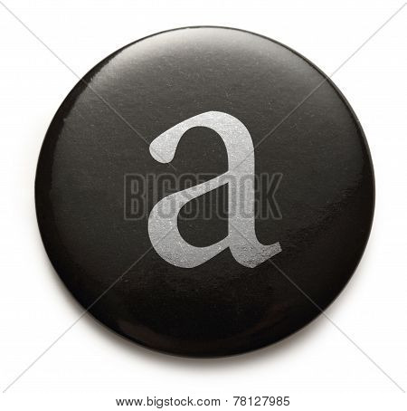 Latin Letter A